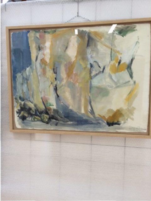 """Salon """"Arts du littoral cauchois"""", œuvres de Pascale Ayrault"""